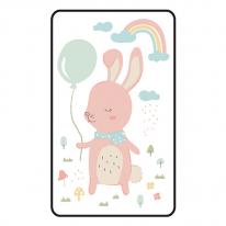 [쟈니] 동물친구들 대형 3d에어매쉬매트 토끼 (95x145)