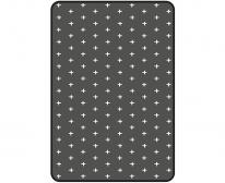 [쟈니] 3d에어매쉬매트 크로스 차콜 (90x140)