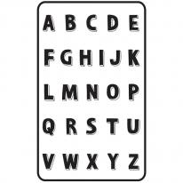 [쟈니] 대형 3d에어매쉬매트 알파벳 (95x145)
