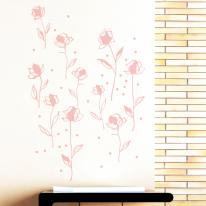 작은꽃세트 S669 그래픽스티커 플라워스티커
