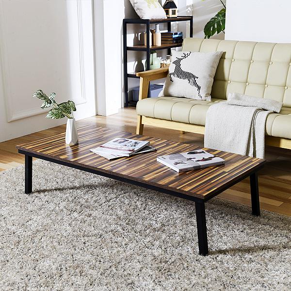 스틸 1200 좌탁 거실 테이블 철제 사이드 탁자(SS011)