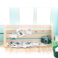 [스타일박스] 210. 메모리얼 사진선반 - 삼나무 원목 수납 다용도선반