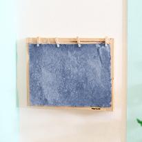 [스타일박스] 197. 두꺼비집가리개 - 삼나무 원목 진열 벽장식