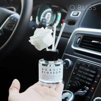 [오블리스]그라쎄 플라워 차량용 디퓨져 40ml 그레이