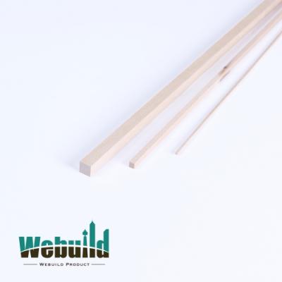 위빌드 모형재료 Basswood stick 바스우드 스틱