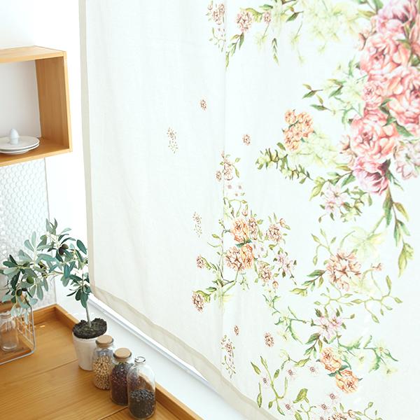 들꽃이야기 보뇌르 가리개커튼 108x145