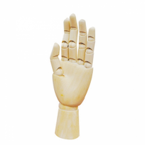 아트포인트 목각 왼손 10인치(25cm)