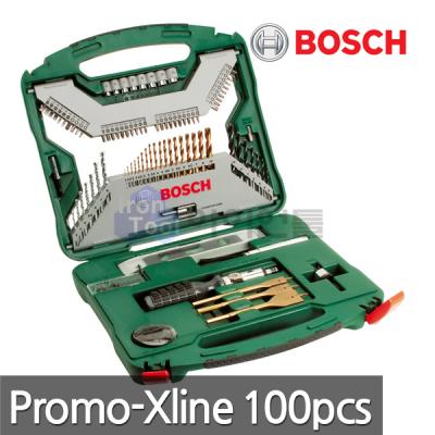[보쉬] X-Line 100pcs 다목적드릴비트세트
