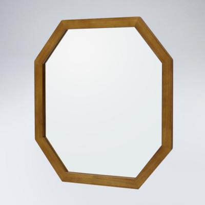 팔각 원목 거울(하임엔틱)