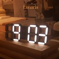 [루나리스] 3D LED 인테리어 벽시계
