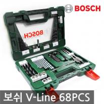 [보쉬] 다목적비트세트 V-line 68pcs