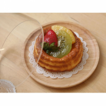 [ACACIA] 원형 우드 접시 중 (뚜껑 별매)