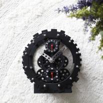 [2HOT] 블랙 태엽 알람시계 (G040)