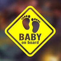 [No.037] 아기 발바닥 - 마름모-영문