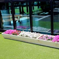 원목 텃밭 화분 1800(중형) 베란다 정원만들기 꽃키우기 옥상꾸미기
