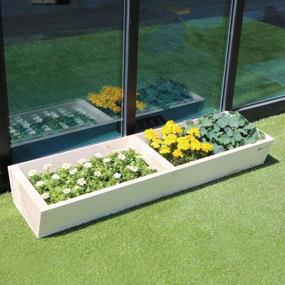 원목 텃밭 화분 1200(소형) 옥상 베란다 친환경 정원 만들기