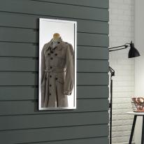 라디앙 알루미늄 사각 벽걸이거울 400x800