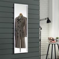 라디앙 알루미늄 사각 벽걸이거울 400x1200