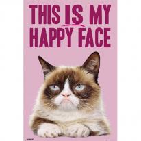 GN0856 GRUMPY CAT  Happy Face (Bravado) (61x91)