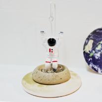 [마그넷] 우주인 클립홀더