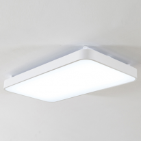 심플 화이트 LED 거실등 60W