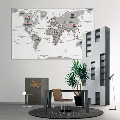 초간편 모던세계지도-M1201(화이트)