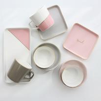 [쓰임] 소울 핑크브라운 2인 홈세트 9P