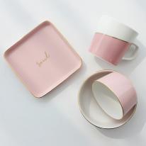 [쓰임] 소울 핑크 1인 홈세트 4P