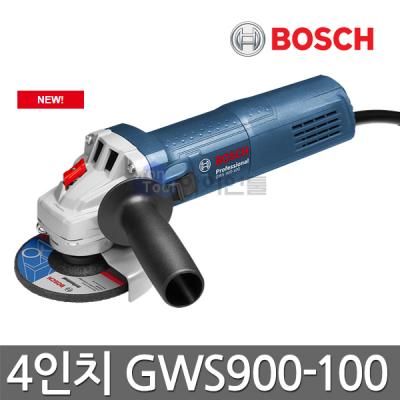 [보쉬] 4인치 그라인더 GWS900-100 900W