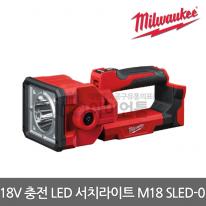 [밀워키] 18 V LED 서치라이트 M18 SLED-0 본체만