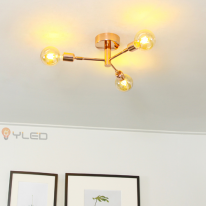 [LED조명] 포세이돈3등 직부 로즈골드