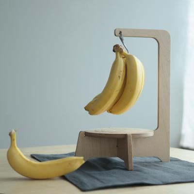 자작나무로 만든 JWK 바나나걸이겸 냄비받침대