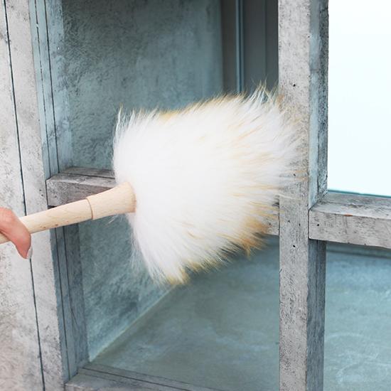 [BathCul] 바스칼 천연양모 먼지떨이(S)