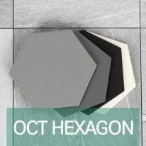 [퍼스타일] OCT 헥사곤 육각형 인테리어 타일