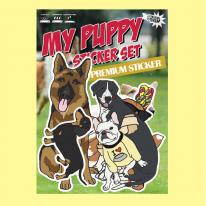 강아지 마이퍼피-리무버블 데코 스티커-냉장고스티커/캐리어스티커