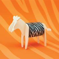 [원더스토어] 럭키스 동물 마스킹 테이프 얼룩말
