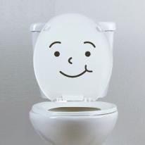 화장실,가구,소품 데코스티커_'표정'