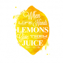 DTP 폴리옥스포드컷트지] 과일친구들-레몬(a1884)