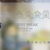 dgse078-커피 브레이크-반투명시트지