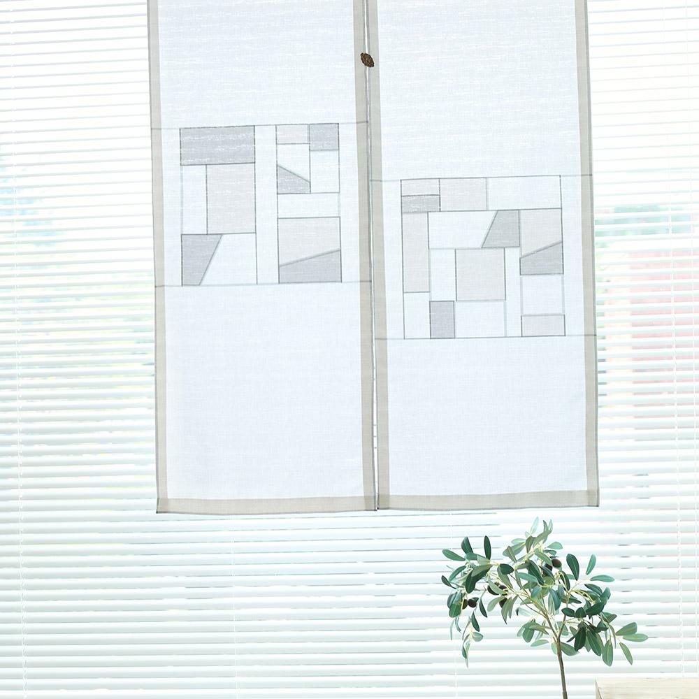 다은조각보 2종 가리개 커튼 40x140(2장)