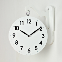 (kthx0473)데코우드 양면시계