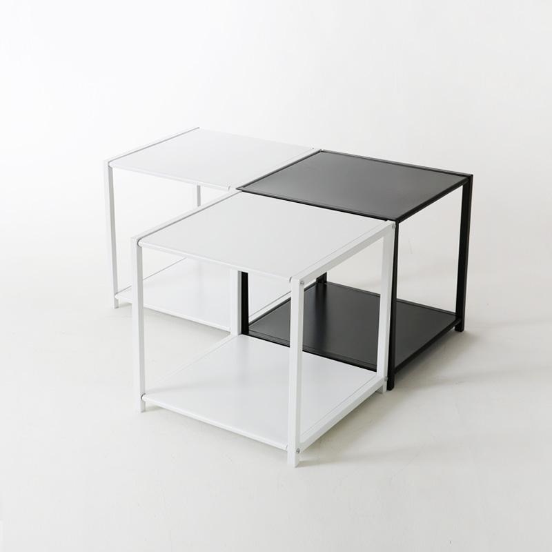 큐브 철제 테이블