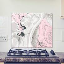 AB0121-핑크마블링대리석