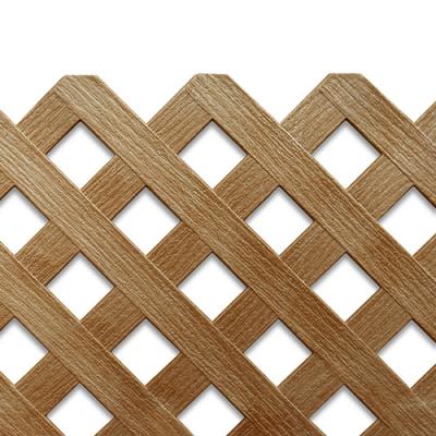 PVC 래티스 일반형/브라운