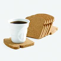 식빵 코르크 코스터