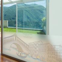 dgcn011-베네치아의 풍경-무점착 반투명 창문시트지
