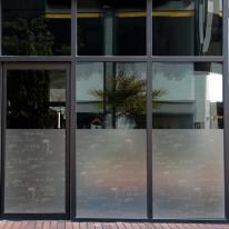 dgcn036-따뜻한 커피한잔-무점착 반투명 창문 시트지