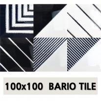 북유럽 바리오타일 6종 100x100mm(벽,바닥겸용/낱장판매)