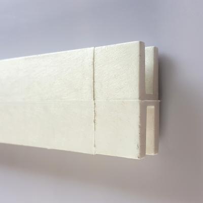 PVC 래티스 H캡/화이트 (연결캡)