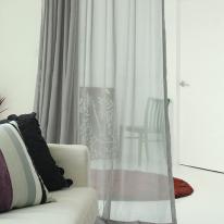 [올댓하우스] 젠 딥그레이 호텔식 무지 속커튼